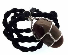 Wired Genuine Indian Shiva lingam Spiritual Temple Pendant