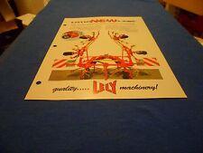 (DRAWER 1) Lely Lotus Stabilo AWS Rotary Tedder 520 600 675 770 Brochure Specs