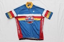 New Hincapie Men's Axis RX Colorado Blue Red Yellow Cycling Bike Jersey Large