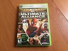 Marvel: Ultimate Alliance - Gold Edition New Factory Sealed Ready To Ship