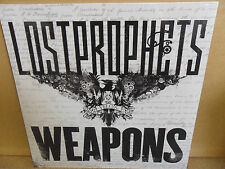 "Lostprophets - Weapons (12"" LP white vinyl new and sealed)"