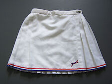Slazenger Tennis Sports Skirt Small XS Extra W24 in. White 1970s 80s Vtg ITAx443