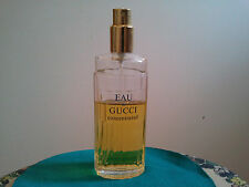 EAU DE GUCCI CONCENTRATED 125ml SPRAY USED WOMEN'S PERFUME FRAGRANCE