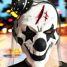 Creative Horror Clown Mask Halloween Xmas Costume Latex Accessory Prop