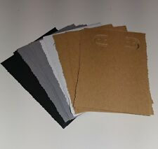 NEW Handmade Earring jewelry display card, 2x3 inch, 36pcs, neutral colors edged