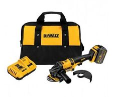 NEW DEWALT FLEXVOLT 60V MAX LI-ION CORDLESS 4-1/2 IN. ANGLE GRINDER KIT DCG414T1