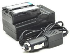 new NP-FM30 NP-FM50 NPFM50 Battery + Charger for DCR-PC103 TRV18 TRV418E TRV17E