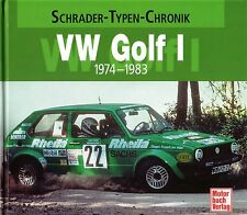 Book - VW Golf Mk I Rabbit GTI 1974 1983 Brochure Photos - Schrader Chronik