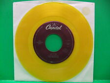 The Beatles 45 LOT Yellow Green Wax Let It Be You Know My Name Can't Buy Me Love