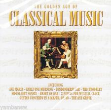 THE GOLDEN AGE OF CLASSICAL MUSIC * NEW & SEALED CD