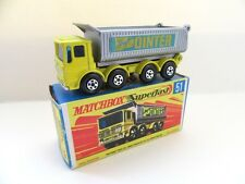 Matchbox Superfast 51a AEC 8 Wheel Tipper - Pointer - Mint/Boxed