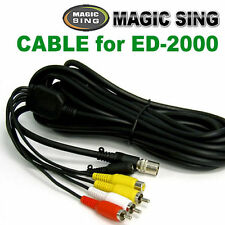 MAGIC SING Cable - 6 Pin RCA Cable for ED-2000