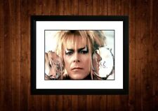 DAVID BOWIE LABYRINTH SIGNED FRAMED PP A4 PRINT GIFT IDEAS ART PRINT