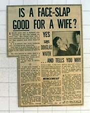1954 Is A Face Slap Good For Your Wife? - Yes!