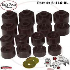 Prothane 6-116-BL Body Mount Bushing Kit-16pc 01-05 Explorer Sport Trac - 2/4W