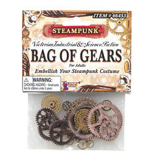 Steampunk Gears Cogs Clock Vintage Victorian Fancy Dress Costume Prop