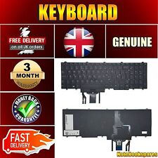 Original DELL LATITUDE E5550 5550 FP37Y Laptop Keyboard Black Backlit UK QWERTY