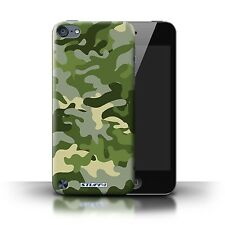 STUFF4 Case/Cover for Apple iPod Touch 5/Camouflage Army Navy/Green 1