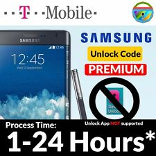 Unlock Code for T-Mobile Samsung USA Galaxy S6 S5 S4 Note 4 3 Note Edge Mega