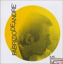 Tutti Morimmo A Stento - Fabrizio De Andre' 24 Bit Remastered CD RICORDI VIDEO