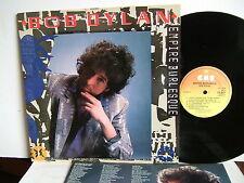 Bob Dylan - Empire Burlesque  CBS 86313  UK LP  1985
