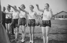 WW2 Picture Photo Member Young women of Bund Deutscher Mädel League German 1156