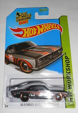 HOT WHEELS '68 PLYMOUTH BARRACUDA FORMULA S HW WORKSHOP 239/250 SHIPS FREE!