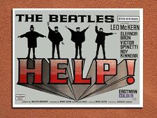 vintage retro style The Beatles Help movie poster metal sign wall door plaque