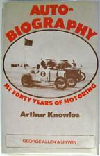 AUTO-BIOGRAPHY MY FORTY YEARS OF MOTORING DAVID KNOWLES ISBN:0047960353 BOOK