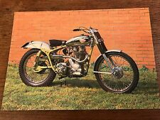 Vintage 1950 350cc Royal Enfield National Motorcycle Museum Postcard (C)