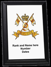 Personalised Wall Plaque - 9th Queen's Royal Lancers