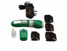 SURE CLIP Dog Clipper Rechargeable With 2 Batteries and Ceramic Blades