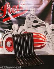Steib, s500, lusso Model, sede, Nero, carrozzetta, SIDECAR, CON PIUME nucleari!