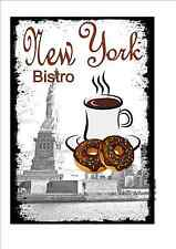 Cafe Sign Vintage Style Bistro Sign Shop Sign Coffee Tea Room Sign Kitchen Sign