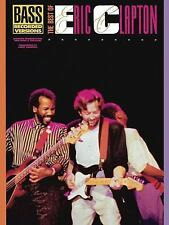 Eric Clapton Best Of Bass Recorded Versions Tab Book