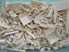 LEGO WHITE 1/4 lb Bulk Lot of Bricks Plates Specialty Parts Pieces Pounds