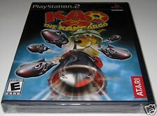 Kao the Kangaroo Round 2 (Playstation 2) ..Brand NEW!!