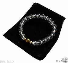 Crystal Clear Quartz Energy Enhancing Bracelet