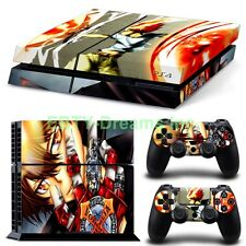 Katekyo Hitman Reborn Anime Tsuna Vongola Skin Sticker Decal Protector for PS4