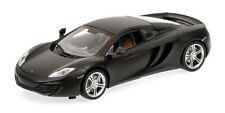 MINICHAMPS 2011 MCLAREN MP4-12C MATT BLACK 1:18**New Stock**
