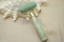 Chinese Natural Jade Massage Head Neck Face Foot Roller Tool Health