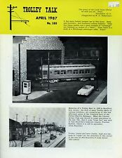 Trolley Talk Magazine April 1987 No 180 Memories of a trolley meet in 1956