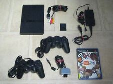 Playstation 2 Slim komplett mit 2 Controller + Spiel Eye Toy Play + Kamera