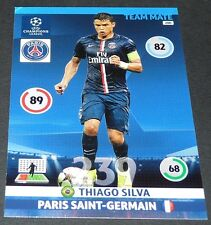 THIAGO SILVA BRASIL PARIS PSG UEFA PANINI FOOTBALL CHAMPIONS LEAGUE 2014 2015