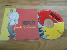 CD Punk Hepcat - Push 'n Shove (8 Song)  HELLCAT / EPITAPH EUROPE