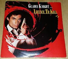 "Gladys Knight,Licence To Kill,Pre Owned 7"" Vinyl,Excellent Condition"