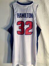 Adidas Swingman NBA Jersey Pistons Richard Hamilton White sz 2X