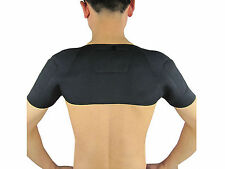 Magnetic Thermal Self-Heating Shoulder Pad Belt Support Brace Protector Health