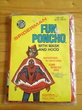 spiderman fun poncho 1976 ben cooper