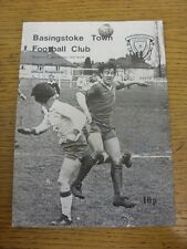 03/02/1979 Basingstoke Town v Crawley  . Item appears to be in good condition un